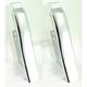 Chrome Saddlebag Filler Panels - 26312
