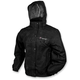 Womens Black Pro Action™ Rain Jacket