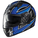 Blue/Black/White Ramper IS-16 Helmet