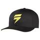 Black/Yellow Barbolt Flex-Fit Hat