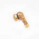 Gold 10mm 90 degree Angle Valve Stem - 32-3037