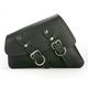 Left-Side Solo Leather Swingarm Saddlebag - PRSBL03