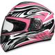 FX-100 Pink Multi Helmet