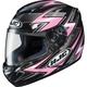 Black/Pink/Silver Thunder CS-R2 Helmet