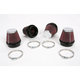 Round/Tapered-Type Custom Clamp-On Air Filter Kit - RC-2344