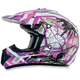 Youth Fuchsia FX-17Y Trap Helmet