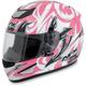 Pink Multi FX-95 Helmet
