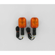 Turn Signals - Black w/Amber Lens - 25-7000