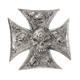 Iron Cross Skulls Stick-On Emblem - LT88679