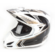 White Carbon Cyclic Variant Helmet