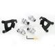 Black Trigger-Lock Hardware Kit for Cafe Fairing - MEB1994