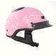 Pink Boneyard Beanie Half Helmet