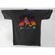 Gray Biker Babe T-Shirt