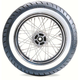 Rear ME880 150/80HB-16 Wide White Sidewall Tire - 1425900