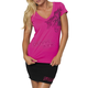 Guilded Womens Hot Pink T-Shirt