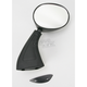 Black OEM-Style Replacement Round Mirror - 20-78271