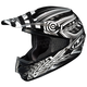 Black/Silver/White Charge CS-MX Helmet