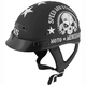 Black Moto Mercenary SS300 Helmet