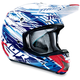 Blue Verge Twist Helmet