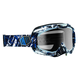 White/Black/Blue Block Ally Goggles - 2601-1724