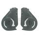 Black Pivot Kit for Nolan N104 Helmets - SPAMVI0000199