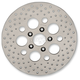 Rear 11.5 in. Stainless Steel Drilled Brake Rotor - 1710-1908