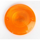 Turn Signal Amber Lens for Models w/Flat Style Signal Housing - DHD4A