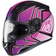 Black/Pink/White MC-8 CL-17 Redline Helmet