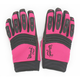 Womens Pink/Black Velocity Gloves