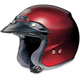 RJ Platinum-R Metallic Wine Red Helmet