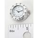 Spot Clock-White Face w/Silver Bezel - SC-5710SW
