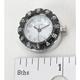 Spot Clock-White Face w/Black Bezel - SC-5710BW
