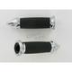 Custom Billet Spike Grips - SB-CC-85-CH-SPK