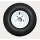 K399 6-Ply 18.5 x 8.50-8 Tire W/5-Hole Solid Wheel Assembly - 3H310