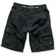 Black Folsom Shorts