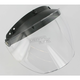 Universal 3-Snap Anti-Fog Clear Shield - 301100H500R