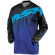 Youth Black/Blue/Cyan Axxis Jersey