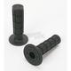 Black Full Waffle MX Single-Ply Grips - H02RFB