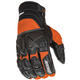 Black/Orange Atomic X Gloves