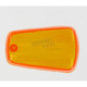 Replacement Amber Turn Signal Lens - 25-4030