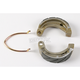 Sintered Metal Grooved Brake Shoes - 338G