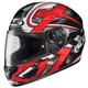 Black/Dark Silver/Red Shock CL-16 Helmet