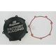 Factory Racing Black Clutch Cover - CC-38AB