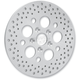 Rear 11.875 in. Stainless Steel Drilled Brake Rotor - 1710-1064
