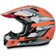 FX-17Y Safety Orange Multi Youth Helmet