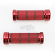 Chrome Red 7/8 in. Custom Grips - 866CRRD78