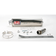 RS-3 Oval Race Bolt-On Muffler w/Polished Stainless Steel Muffler Sleeve - ZX649SO