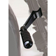 Adjustable Highway Pegs with 1 1/4 in. Frame Mounts - HD003BK