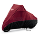 Black/Cranberry Scooter Cover - 4-481AB
