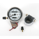 2:1 Ratio Mini Speedometer w/White Face - DS-243836